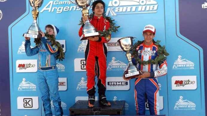 Karting campeonato argentino: Basco y Milla, en lo más alto