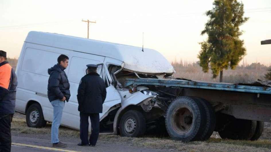 Dos graves accidentes en San Martín con dos víctimas fatales