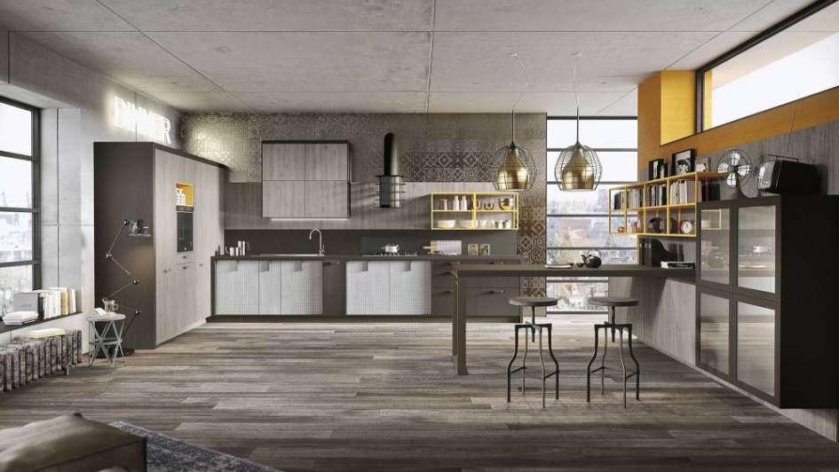 de estilo industrial para tu cocina