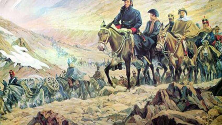 El Cruce: la primera columna salió al mando de Cabot
