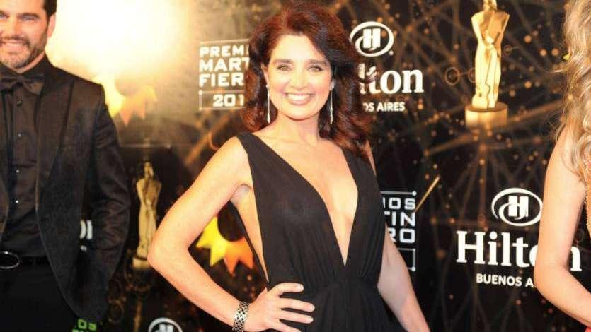 Verónica Varano se puso un vestido sensual y mostró todo