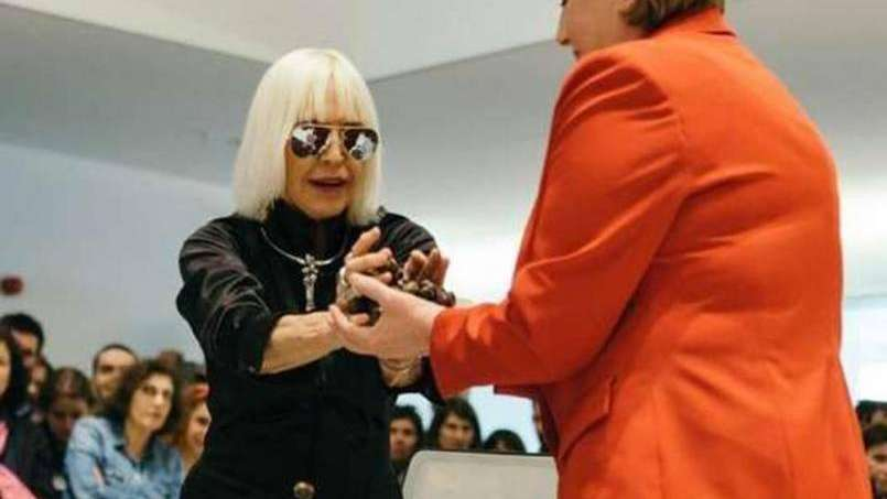 Marta Minujín, provocadora: hará un Partenón de Libros