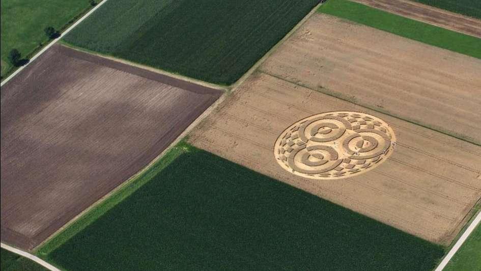 Miles de personas se acercan a ver los misteriosos círculos en los campos de Alemania