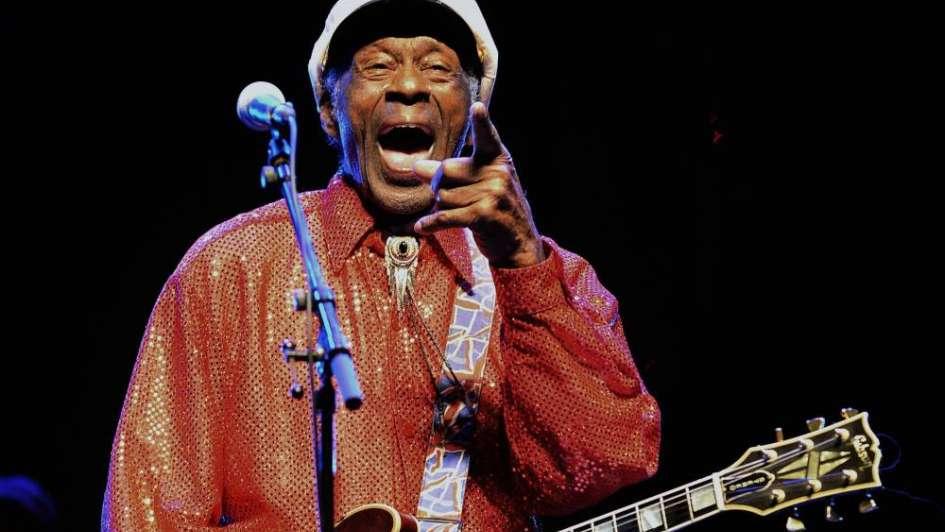 A los 90 años murió Chuck Berry, una leyenda del rock