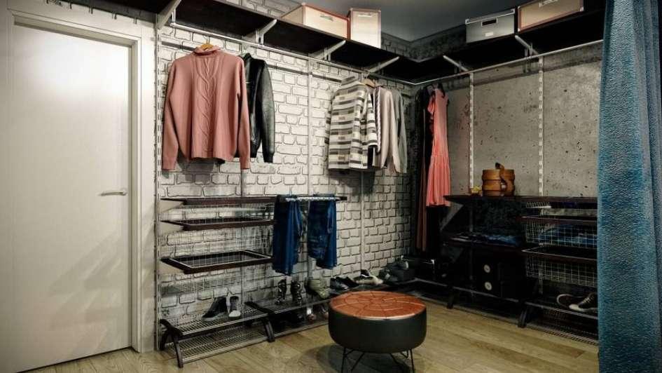 Todo el estilo industrial para tu armario o tu vestidor for Armarios estilo industrial