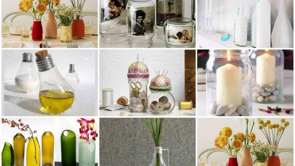 Decorá con vidrio y dale transparencia a tu hogar
