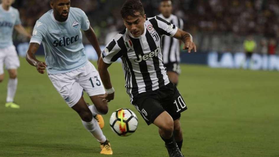 El doblete de Dybala no alcanzó y Lazio ganó la Supercopa de Italia ante la 'Juve'