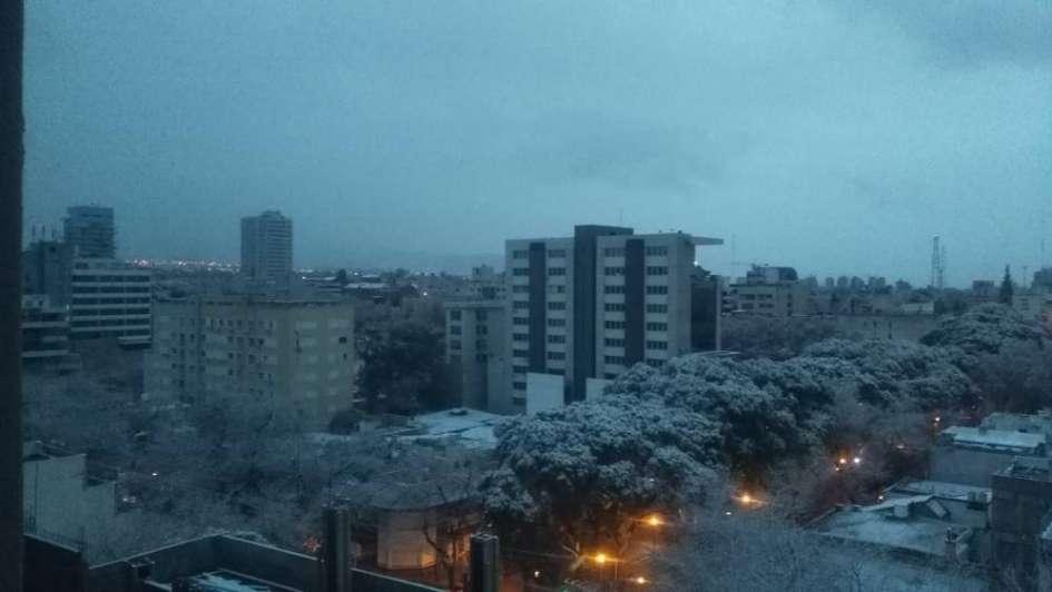 Así amaneció en Mendoza vía Facebook Live