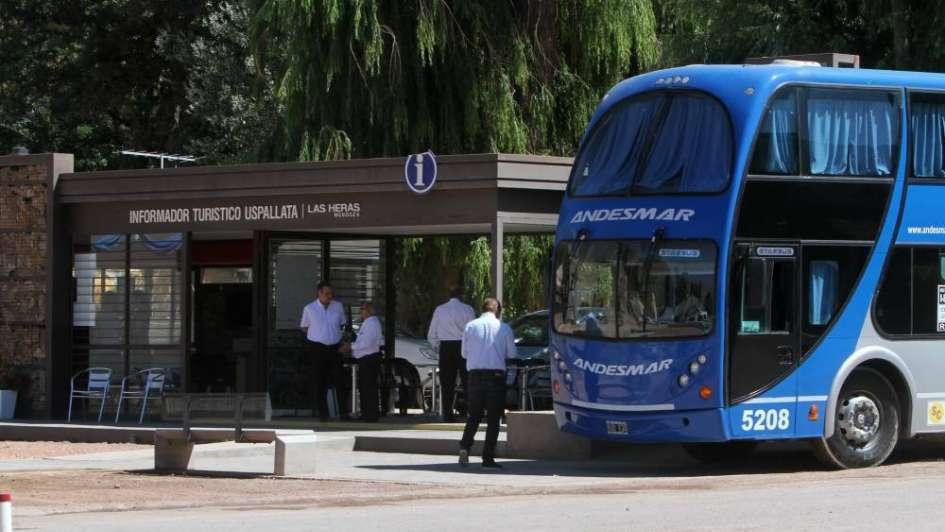 Nuevo servicio de transporte directo entre Mendoza y Uspallata
