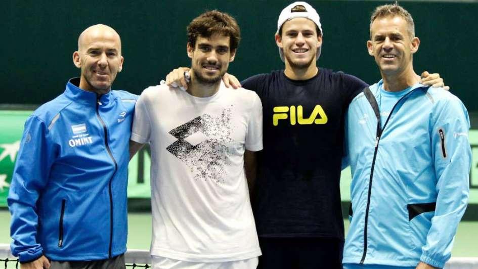 Confianza en el equipo argentino de la Davis
