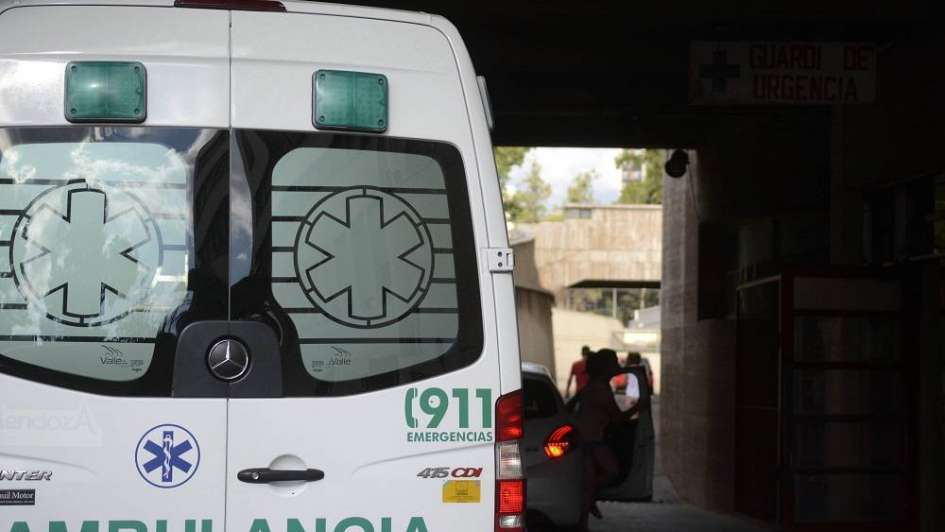 Un anciano intentó cruzar la calle y murió atropellado por un motociclista en Junín