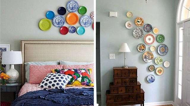 Decor tus paredes con platos - Decora tus paredes ...