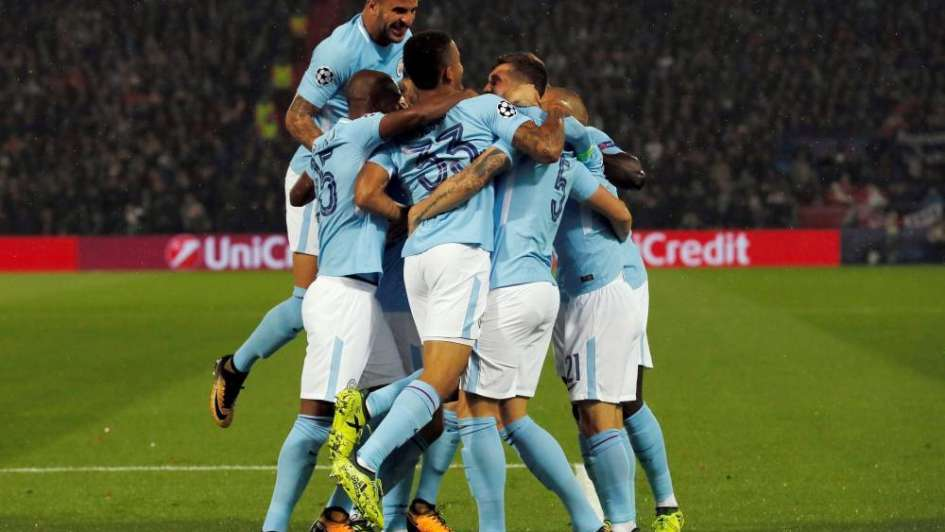 Champions: gol del Kun Agüero en la clara victoria del Manchester City