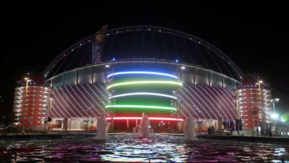 El lujo no es vulgaridad: Catar inauguró su primer estadio para el Mundial 2022