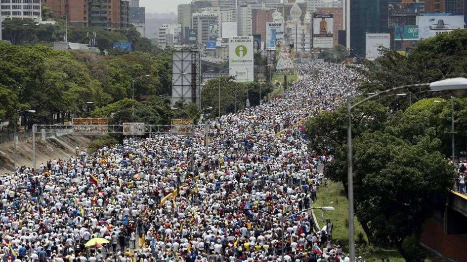 Protestas, represión y otros dos muertos en Venezuela