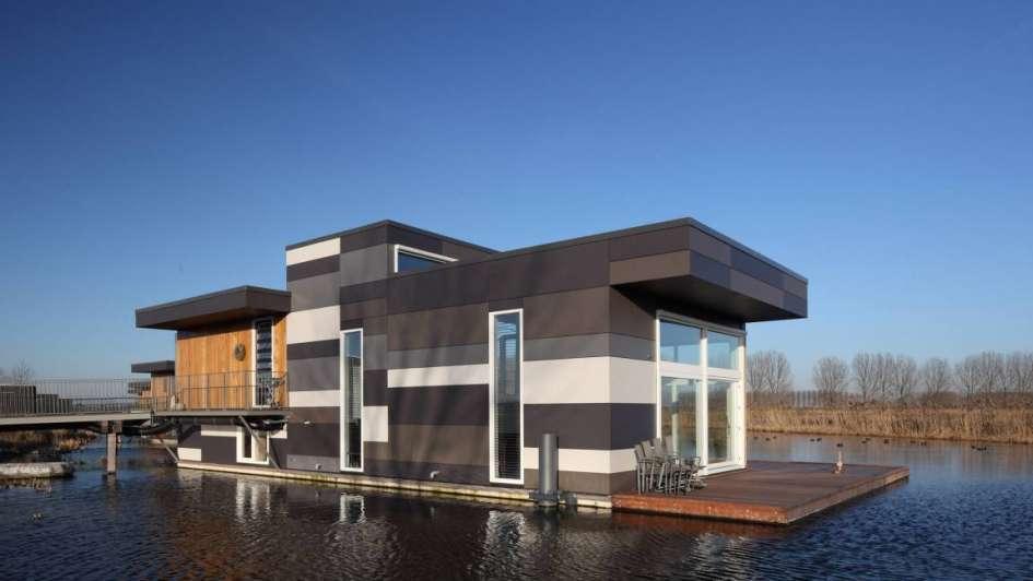 Arquitectura moderna casas en el agua - Casas arquitectura moderna ...