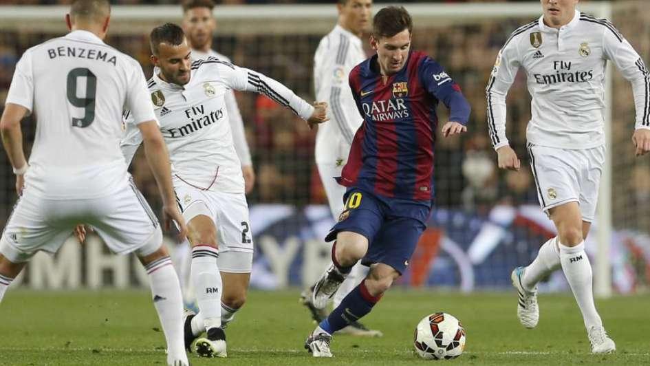 Con Messi y sin Neymar