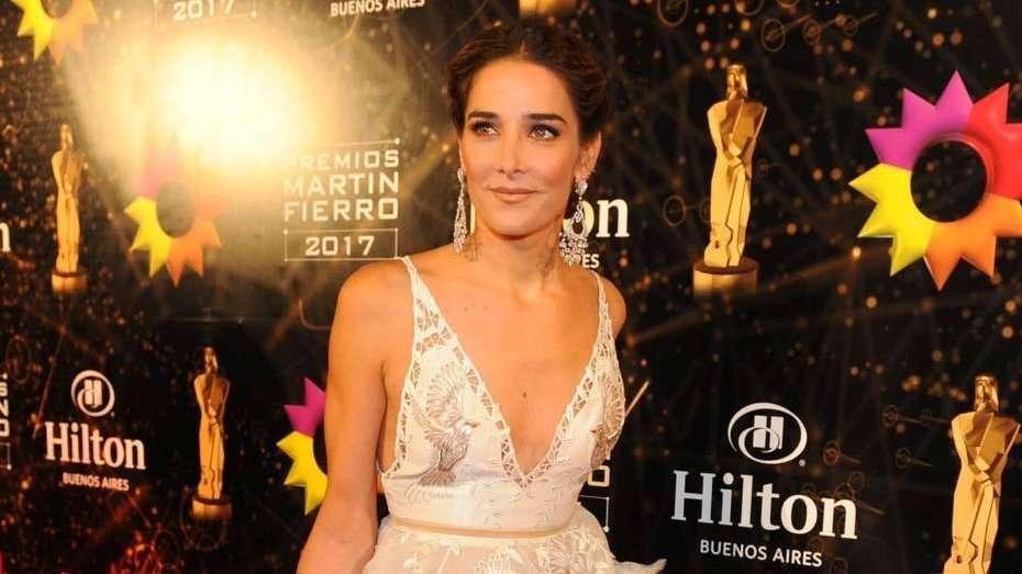Juanita Viale se puso las joyas más caras de los Martín Fierro
