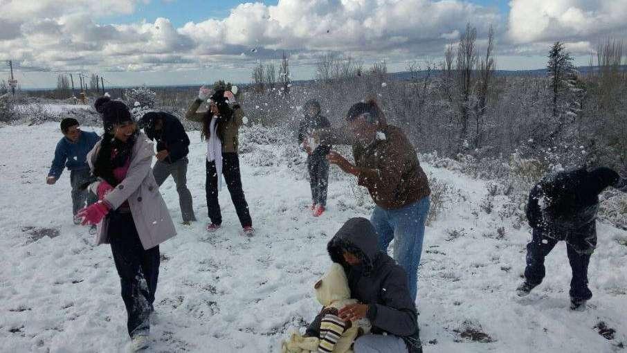 Hubo que esperar 4 años para volver a disfrutar de la nieve en el Gran Mendoza