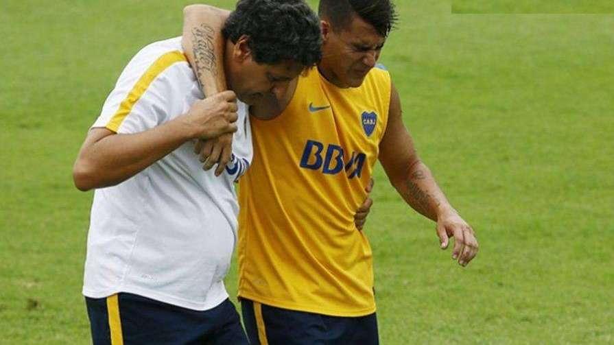 Cristian Pavón estará dos meses para recuperarse de su lesión en la rodilla
