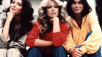 Jackie Smith, Farrah Fawcett y Kate Jackson: las actrices de la serie original.