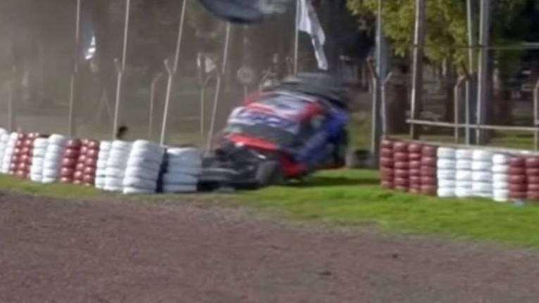 TC: así fueron los dos espectaculares accidentes en el Gálvez