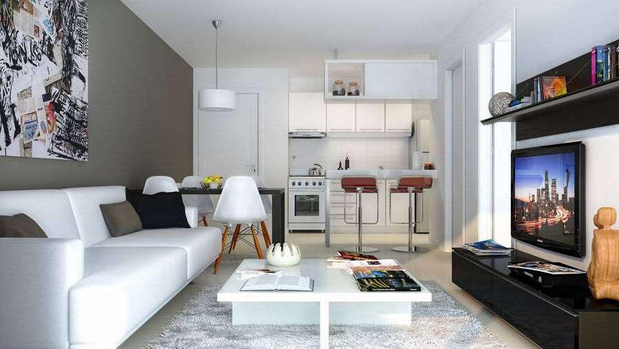 Decorando peque os ambientes for Decoracion living departamento 2 ambientes