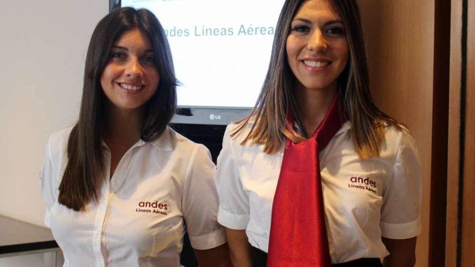 Desayuno para recibir el primer vuelo de Andes Líneas Aéreas en Mendoza