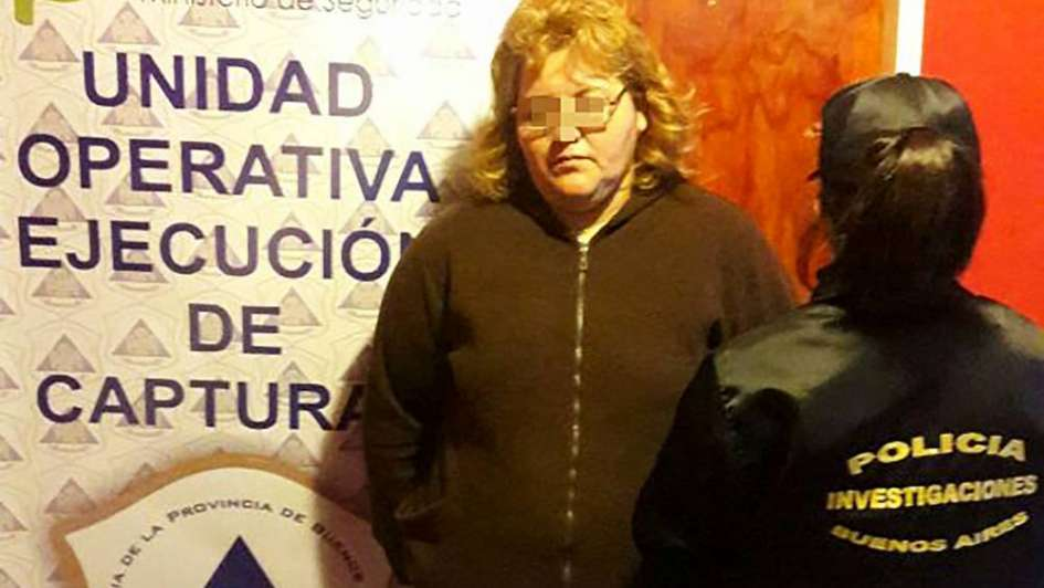 """Cayó la hermana del """"Gordo Toti"""" en Buenos Aires"""