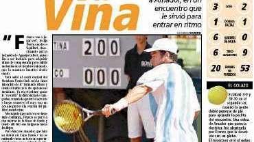 Copa Davis 2001 en mendoza: la primera fuera de Buenos Aires