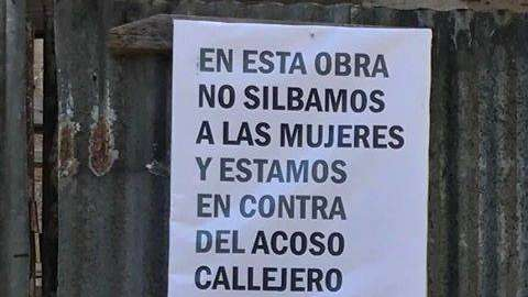 """Albañiles contra el acoso callejero: """"En esta obra no silbamos a las mujeres"""""""