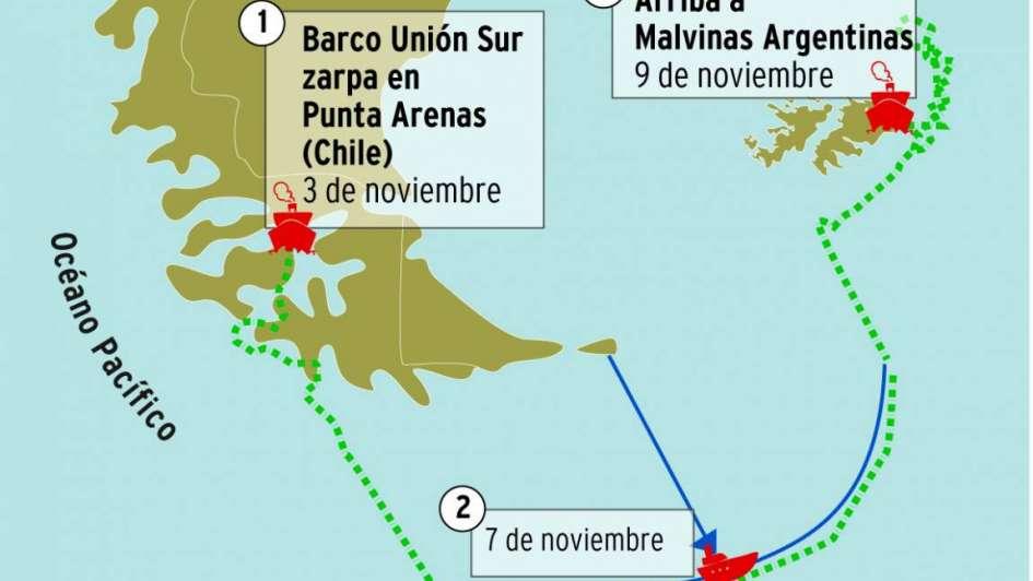 Mendocino contra la pesca ilegal en el mar Argentino