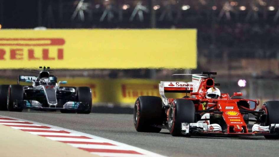 Vettel se quedó con el GP de Bahréin