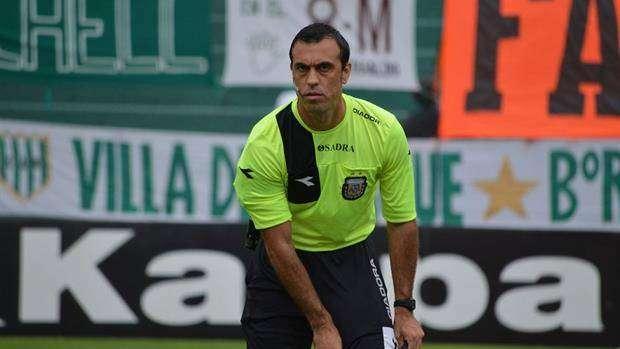 El árbitro Jorge Baliño fue sancionado por su polémica labor en San Lorenzo-Huracán