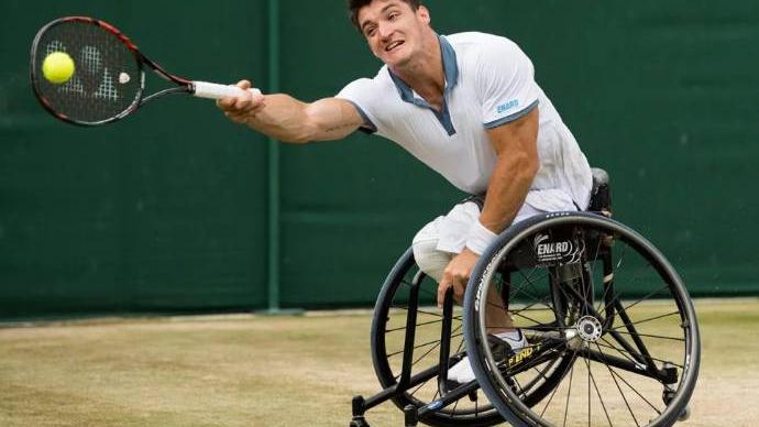 Wimbledon: Gustavo Fernández cayó en la final de tenis adaptado