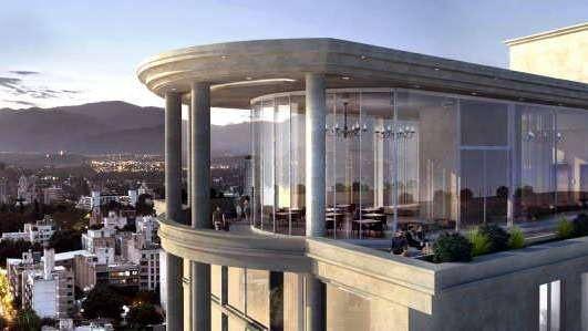 Se viene un hotel 5 estrellas y edificio de lujo en Ciudad