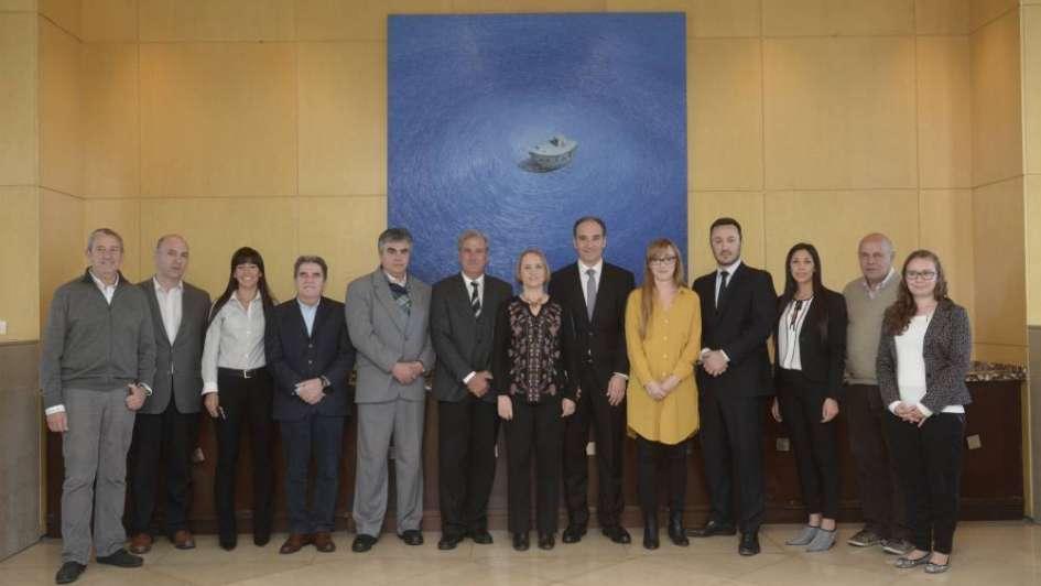 Los Andes y un almuerzo con legisladores nacionales