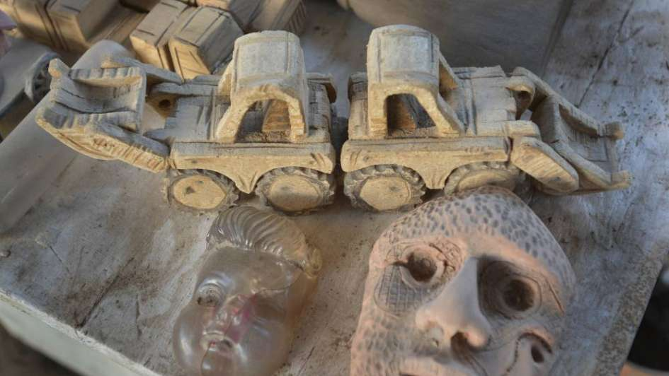 Foto 360: Federico Arcidiácono, artista y escultor