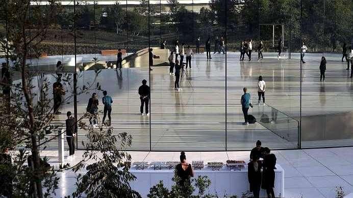 Apple Park: el edificio futurista que soñó Steve Jobs