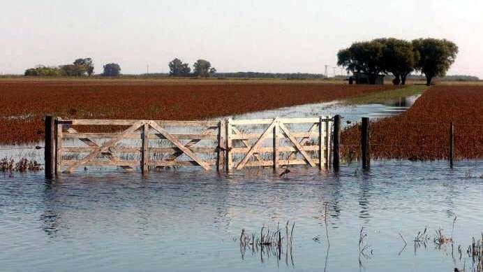Hay 10 millones de hectáreas bajo agua