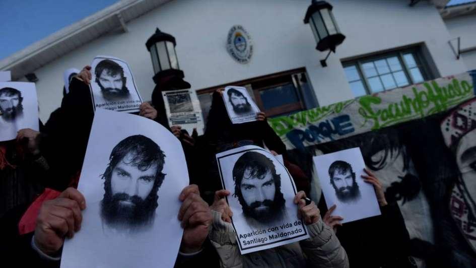 Caso Maldonado: declararon 4 gendarmes y aseguraron que ningún compañero tiró piedras