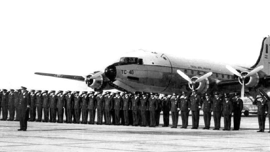 Buscan a los cadetes del TC 48, medio siglo después