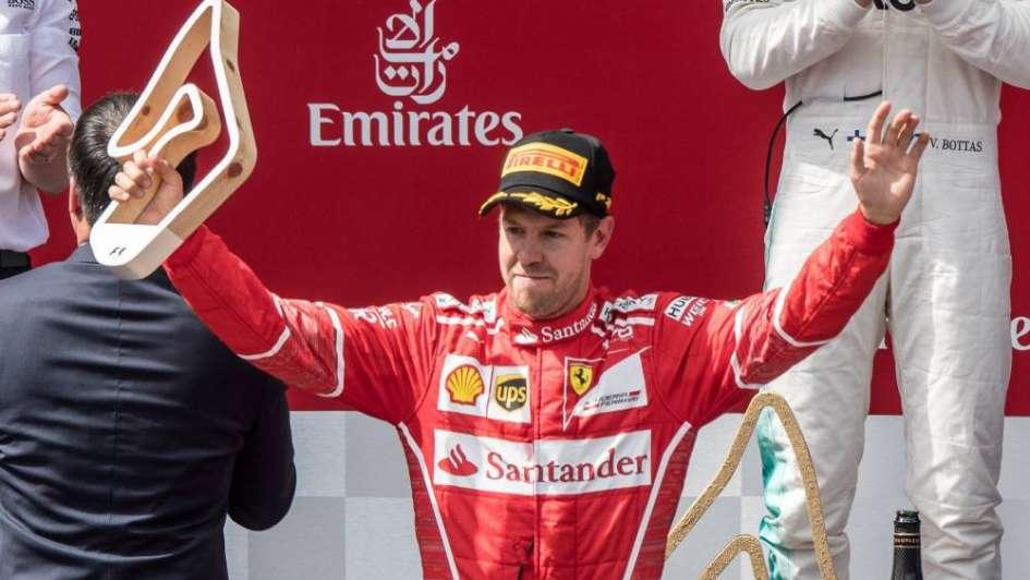 Dura advertencia de la FIA a Vettel tras el incidente con Hamilton
