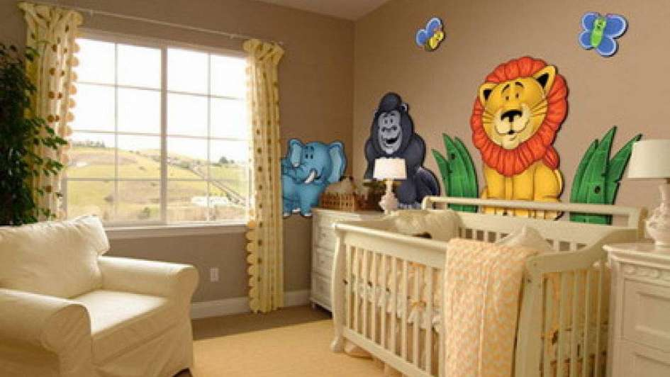Decoraci n animal para la habitaci n de los chicos for Opciones para decorar un cuarto