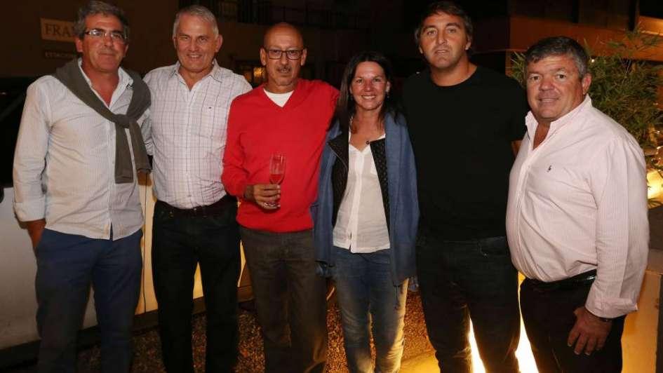 Noche de festejo y agasajo para Las Leonas