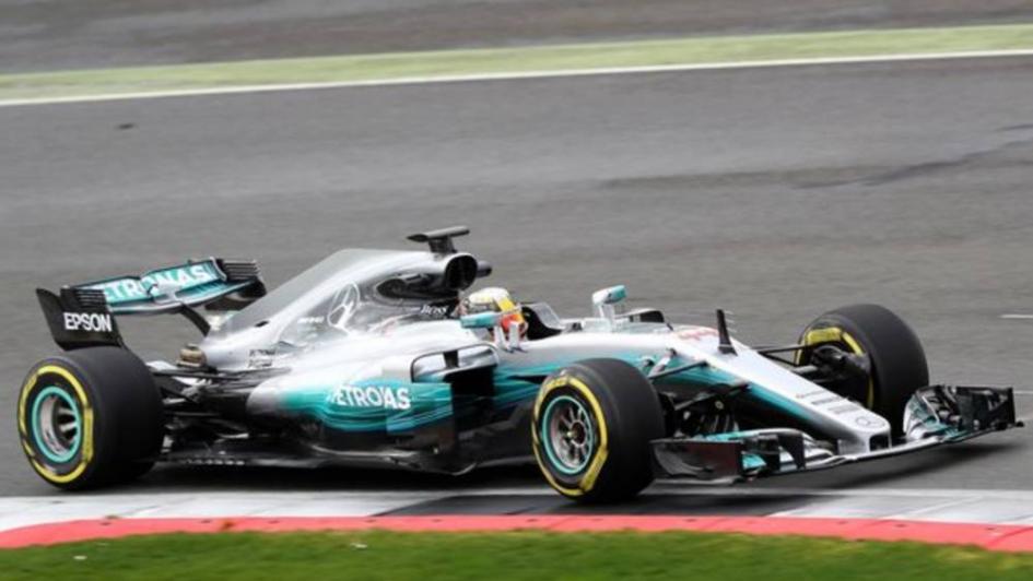 Fórmula 1: Hamilton se quedó con la pole position en Silverstone