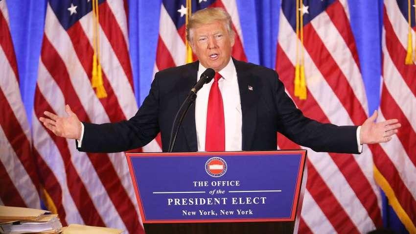 Trump insistió en que levantará un muro y que lo pagará México pero promete reembolsarlo