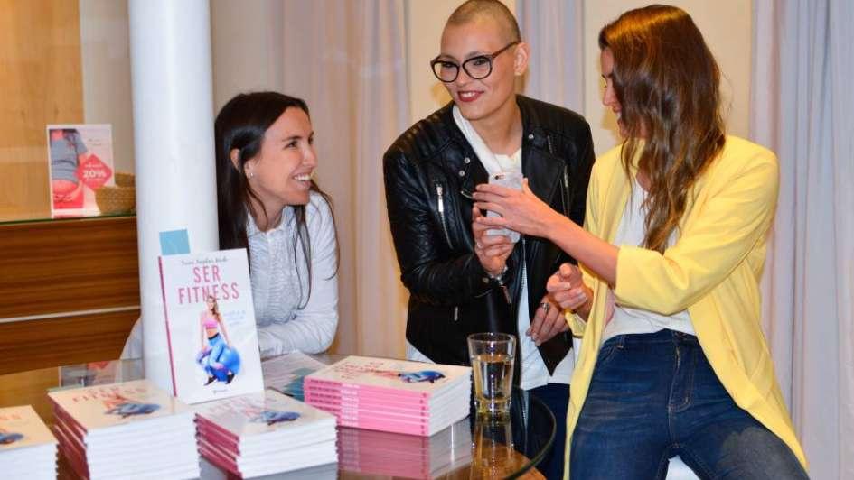 Triana Maida, la autora del libro Ser Fitness, en Mendoza