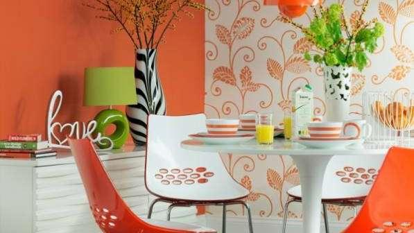Naranja para darle alegría a todos tus ambientes