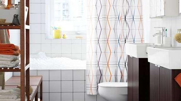 Todos los tips para elegir la cortina para tu baño